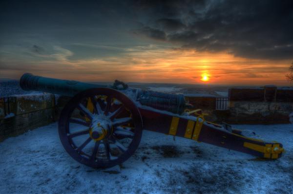 Sonnenuntergang von der Festung Königstein II