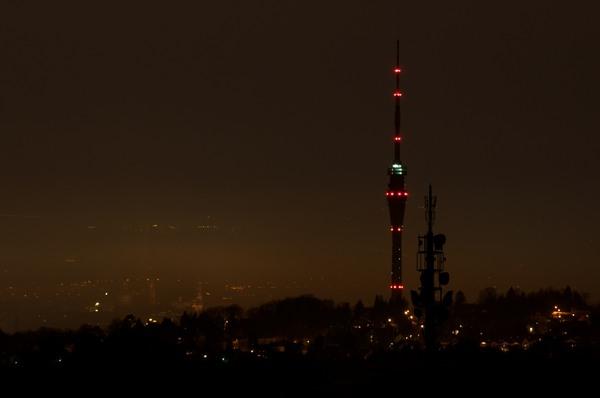 Fernsehturm über Dresden
