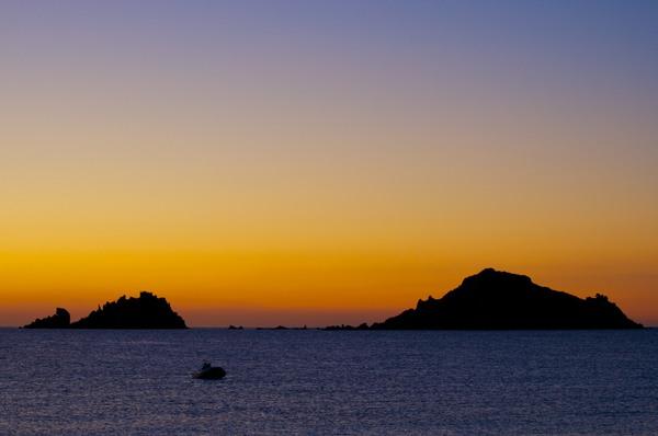 Sonnenaufgang bei Santa Maria Navarrese 1