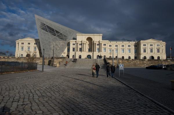 Militärhistorisches Museum von außen