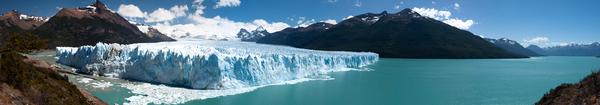 Panorama des Perito Moreno-Gletschers
