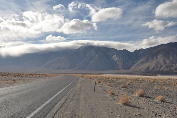 Tolles Licht im Owens Valley