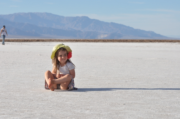 Hermine auf dem Salzsee