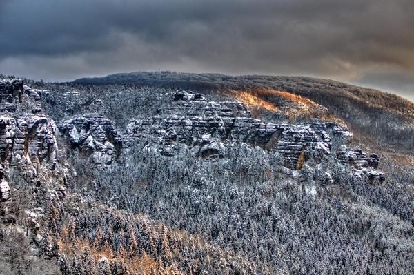 Winterberg und Lehnsteigtürme