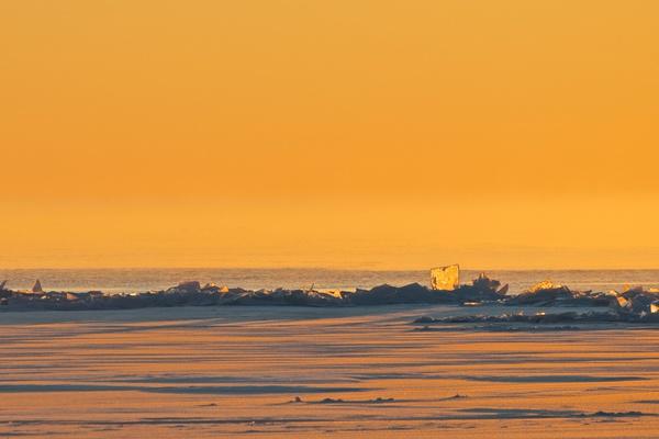 Sonnenaufgang vom Strand aus 3
