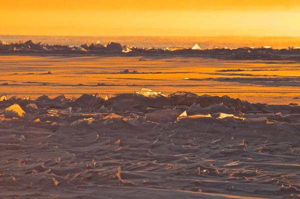 Sonnenaufgang vom Strand aus 4