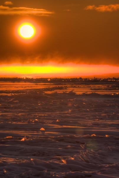 Sonnenaufgang vom Strand aus 5