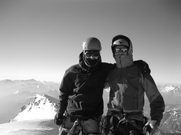 Gipfelfoto Mont Blanc, 4810m