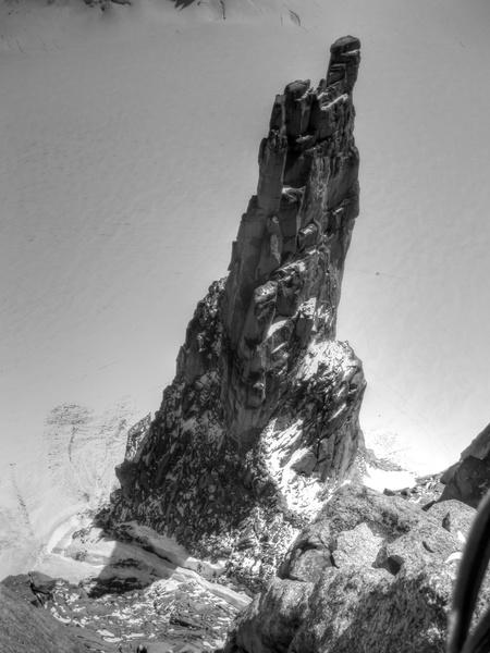 La Chandelle aus der Schweizerführe am Grand Capucin