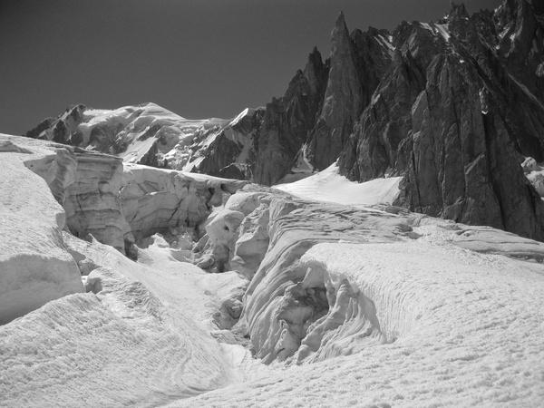 Grand Capucin vom Glacier du Géant