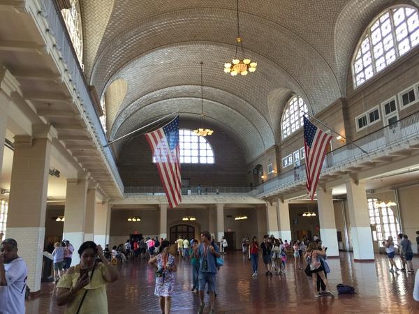 Ellis Island Empfangshalle
