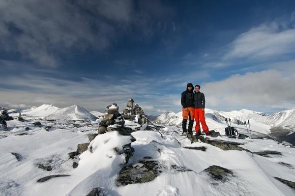 Gipfelfoto vom Noajdde