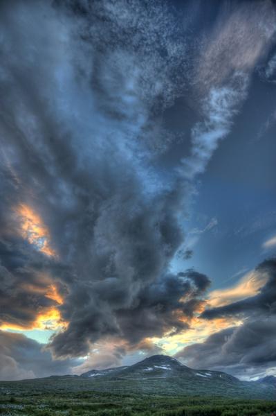 Interessante Wolke