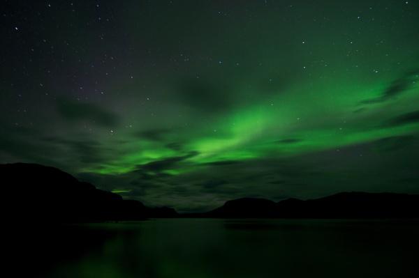 Nordlichter in Saltoluokta 1