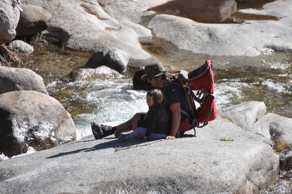 Pause am Kaweah River