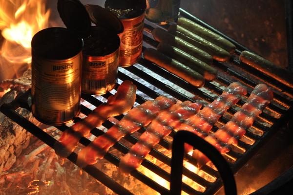 Kochen überm Lagerfeuer