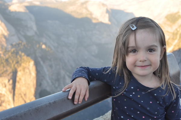 Hermine am Glacier Point