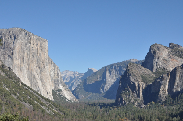 Yosemite Valley vom Tunnel View